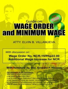 Guide on Wage Order and Minimum Wage by Elvin Villanueva (Philippines)